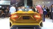 Lexus LF-C2 concept rear at the 2014 Los Angeles Auto Show
