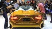 Lexus LF-C2 concept rear fascia at the 2014 Los Angeles Auto Show