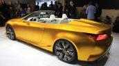Lexus LF-C2 concept rear three quarters left at the 2014 Los Angeles Auto Show