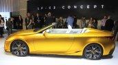 Lexus LF-C2 concept side view at the 2014 Los Angeles Auto Show