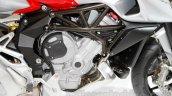 MV Agusta Stradale 800 engine at EICMA 2014