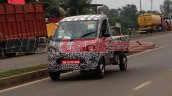 Mahindra P601 LCV spied in Chennai front three quarter