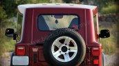 Mahindra Thar Hydrau Top rear angle