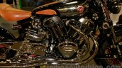 Matchless Model X Reloaded crancase at EICMA 2014