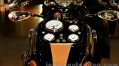 Matchless Model X Reloaded dials on tank at EICMA 2014