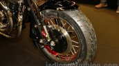 Matchless Model X Reloaded wheel at EICMA 2014