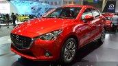 Mazda2 Sedan front three quarters right