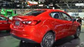 Mazda2 Sedan rear three quarters right