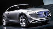 Mercedes-Benz G-Code Concept front quarters