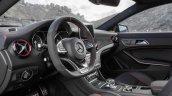 Mercedes CLA 45 AMG Shooting Brake interiors