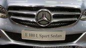 Mercedes E180L grille at Guangzhou Auto Show 2014