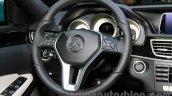 Mercedes E180L steering at Guangzhou Auto Show 2014