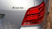 Mercedes GLK 300 4MATIC Luxury Prime Edition taillight at Guangzhou Auto Show 2014