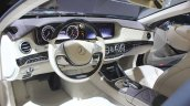 Mercedes-Maybach S600 dashboard at the 2014 Los Angeles Auto Show.JPG