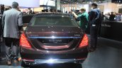 Mercedes-Maybach S600 rear at the 2014 Los Angeles Auto Show