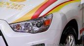 Mitsubishi ASX Silk Edition headlight at 2014 Guangzhou Auto Show