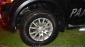 Mitsubishi Pajero Sport AT alloy wheel at the Indian launch