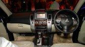 Mitsubishi Pajero Sport AT dashboard at the Indian launch
