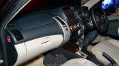 Mitsubishi Pajero Sport AT dashboard passenger side at the Indian launch