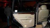 Mitsubishi Pajero Sport AT door pad at the Indian launch