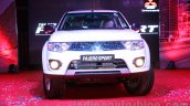 Mitsubishi Pajero Sport AT front fascia at the Indian launch