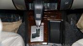 Mitsubishi Pajero Sport AT gear shifter at the Indian launch