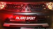 Mitsubishi Pajero Sport AT grille at the Indian launch