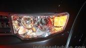 Mitsubishi Pajero Sport AT headlamp at the Indian launch