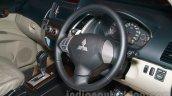 Mitsubishi Pajero Sport AT interiors at the Indian launch