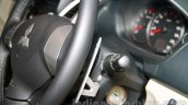 Mitsubishi Pajero Sport AT keyhole steering column at the Indian launch