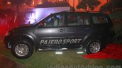 Mitsubishi Pajero Sport AT side at the Indian launch