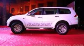 Mitsubishi Pajero Sport AT side view at the Indian launch