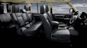 Mitsubishi Pajero facelift cabin