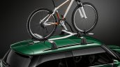 New Mini Cooper S with John Cooper Works package bicycle carrier