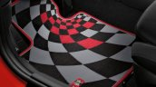 New Mini Cooper S with John Cooper Works package red floor mat