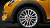 New Mini Cooper S with John Cooper Works package wheel