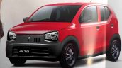 New Suzuki Alto JDM front quarter