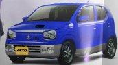 New Suzuki Alto JDM front three quarters