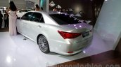 New Toyota Crown rear three quarters at the 2014 Guangzhou Auto Show