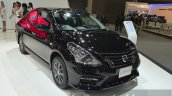 Nissan Almera Sportech front three quarters at the 2014 Thailand International Motor Expo