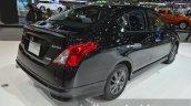 Nissan Almera Sportech rear three quarters at the 2014 Thailand International Motor Expo
