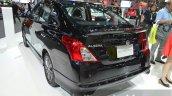 Nissan Almera Sportech rear three quarters left at the 2014 Thailand International Motor Expo