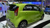Proton Iriz rear three quarter at the 2014 Thailand International Motor Expo