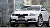 Qoros 3 City SUV front three quarter