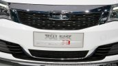 Qoros 3 City SUV grille at the 2014 Guangzhou Auto Show