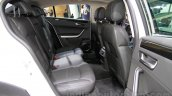 Qoros 3 City SUV rear seats at the 2014 Guangzhou Auto Show