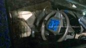 Renault Lodgy steering wheel spied in India