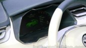 Skoda VisionC Concept cluster at the 2014 Guangzhou Auto Show