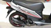 Suzuki Address rear wheel at EICMA 2014