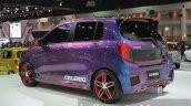 Suzuki Celerio Custom rear left three quarter at the 2014 Thailand International Motor Expo